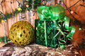 Free In A Beautiful Gift Box And A Large  Ball Royalty Free Stock Photos - 13578838