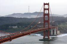 Free San Francisco Golden Gate Bridge Royalty Free Stock Photos - 13570258