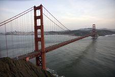 Free San Francisco Golden Gate Bridge Royalty Free Stock Photography - 13570317