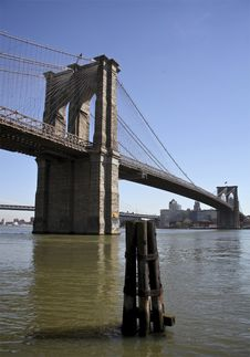 Brooklyn Bridge NYC Royalty Free Stock Images