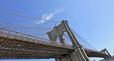 Free Brooklyn Bridge NYC Royalty Free Stock Photos - 13570328