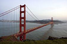 Free San Francisco Golden Gate Bridge Royalty Free Stock Image - 13570416
