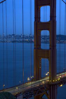 Free San Francisco Golden Gate Bridge Stock Images - 13570594