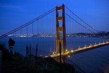 Free San Francisco Golden Gate Bridge Stock Photography - 13570682
