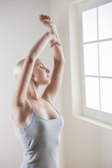 Free Morning Stretching Stock Photos - 13571213