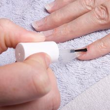 Free Nail Extensions Royalty Free Stock Photos - 13571348