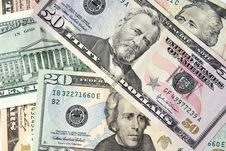 Free Dollar Pack Stock Photography - 13571512