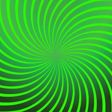 Twirl Green Abstract Stock Photography
