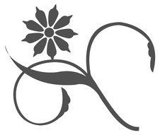 Flower Tattoo Royalty Free Stock Photos