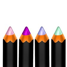 Free Color Pencils Royalty Free Stock Photos - 13572718