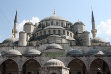 Free Blue Mosque In Istanbul Royalty Free Stock Photography - 13572747