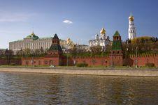 Free Moscow Kremlin Royalty Free Stock Image - 13572806