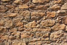 Free Stone Wall Royalty Free Stock Image - 13573596