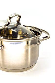 Free Metallic Stew Pan Royalty Free Stock Image - 13573796