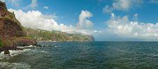 Free Cliffs Surround A Bay On Madeira Stock Photo - 13574260