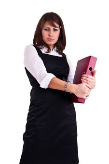 Free Office Woman In A Studio Royalty Free Stock Image - 13574306