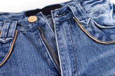 Free Jeans With Pocket Royalty Free Stock Photography - 13574327