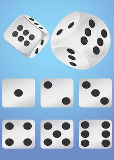 Free Casino Dice Stock Photo - 13574330