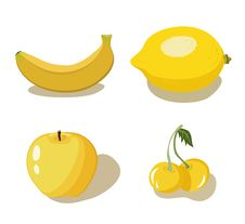 Free Yellow Fruits Royalty Free Stock Images - 13574639