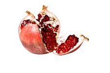 Free Juicy Pomegranate Royalty Free Stock Photography - 13574907