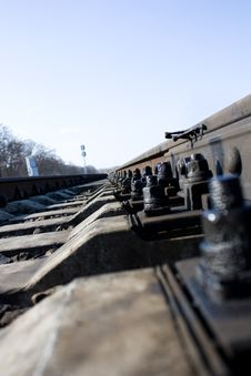 Free Rails, Bolts And Ties Stock Photography - 13575012
