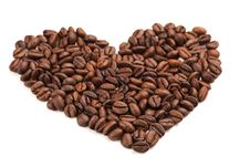 Free Coffee Heart Royalty Free Stock Photos - 13575138