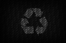 Free Recycle Wallpaper Royalty Free Stock Image - 13575276