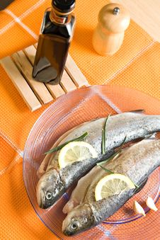 Free Trout Fish Restaurant Food Stock Images - 13576074