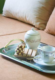 Free Tea And Cake Dessert Breakfast Stock Image - 13576121