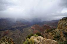 Grand Canyon Storm Stock Photos