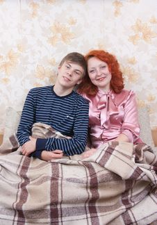 Free Mother And Her Teen Son Stock Images - 13578164