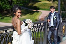 Free Bride And Fiance Stock Image - 13578421