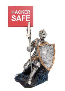 Hacker Safe. Stock Photos