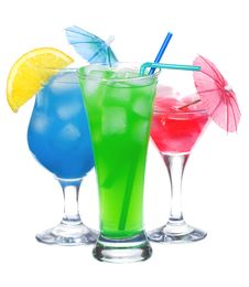 Free Alcohol Cocktails Royalty Free Stock Photos - 13579038