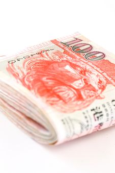 Free Hong Kong Cash Pile Royalty Free Stock Image - 13579156