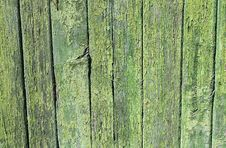 Free Green Painted Wood Fence Pattern Royalty Free Stock Image - 13579196