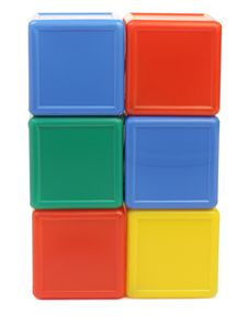Free Colored Cubes Stock Photography - 13579352