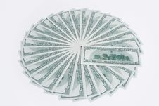 Free Stack Of American Dollars Stock Photos - 13580623