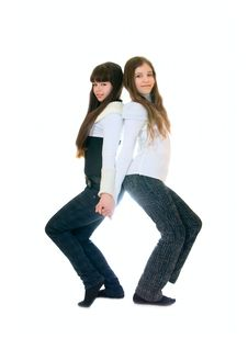 Free Two Teen Girls Stock Photos - 13581223