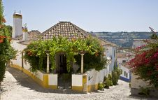 Free Typical House, Obidos. Royalty Free Stock Image - 13582176