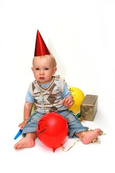 Free First Birthday Stock Photography - 13583042