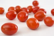 Free Cherry Tomatoes Royalty Free Stock Photo - 13583525