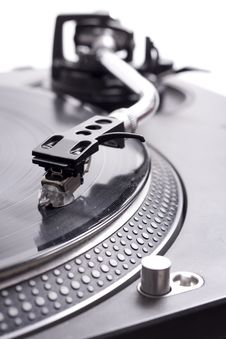 Free Turntable Record Player Royalty Free Stock Photography - 13583537