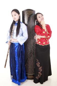 Chinese Musicians Stock Images
