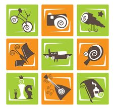Activity Signs Stock Images