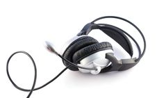 Free Headset And Microphone Stock Images - 13583714