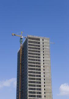 Construction Of A High Building Stock Photos