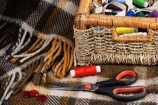 Free Accesories For Needlework Stock Photo - 13583820