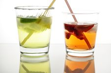 Free Cold Drinks Royalty Free Stock Photo - 13585125