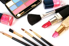 Free Decorative Cosmetics Stock Images - 13585244